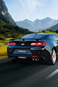 Chevrolet Camaro SS 2018 Rear View
