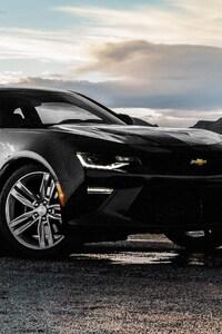 Chevrolet Camaro SS Black