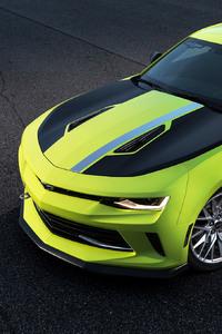320x568 Chevrolet Camaro Turbo AutoX Concept 2016