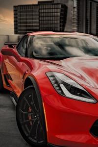 480x800 Chevrolet Corvette Grand Sport 2020