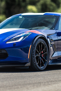 Chevrolet Corvette Grand Sport Side View
