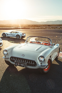 Chevrolet Corvette Old 1953 And New Models