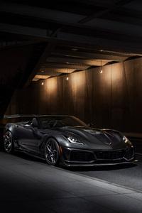 480x800 Chevrolet Corvette ZR1 2019 Edition