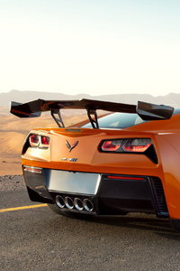 Chevrolet Corvette ZR1 2019 Rear