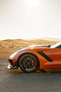 Chevrolet Corvette ZR1 2019 Side View
