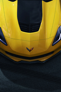 640x1136 Chevrolet Corvette ZR7