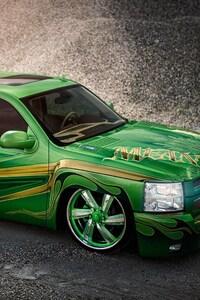 480x800 Chevrolet Silverado Lowrider