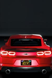 1440x2960 Chevy Camaro Widebody Rear 5k