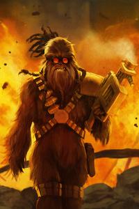 1440x2960 Chewbacca 4k