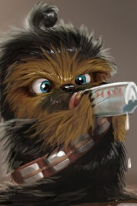 750x1334 Chewbacca From Star Wars