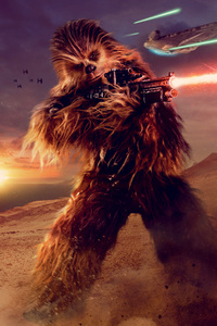 Chewbacca In Solo A Star Wars Story Movie 5k