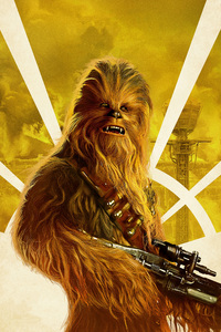 Chewbacca In Solo A Star Wars Story Movie