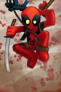 Chibbi Deadpool