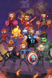 Chibi Avengers Endgame