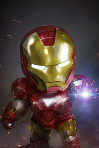 Chibi Iron Man Artwork