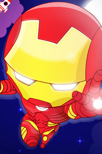 1080x1920 Chibi Iron Man