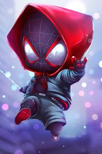 1280x2120 Chibi Spider Miles