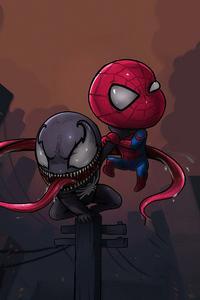 320x480 Chibi Spider Venom
