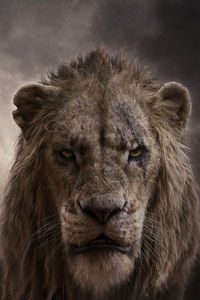 640x1136 Chiwetel Ejiofor As Scar In The Lion King 2019 4k