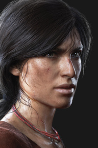 1440x2560 Chloe Frazer Uncharted The Lost Legacy 4k