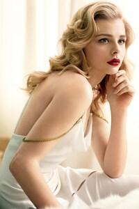 1440x2560 Chloe Mortez In Beautiful White Dress 2016 hd