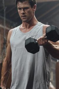 1125x2436 Chris Hemsworth 2020 5k