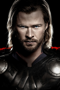 1440x2560 Chris Hemsworth As Thor 5k