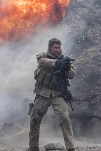 Chris Hemsworth In 12 Strong 5k Movie