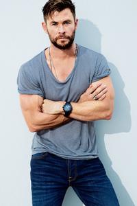 1440x2560 Chris Hemsworth Mens Health 2019