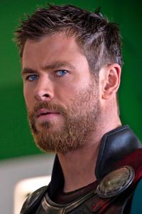 Chris Hemsworth New Look In Thor Ragnarok
