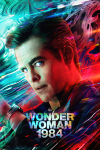 Chris Pine As Steve Trevor Wonder Woman 1984 4k
