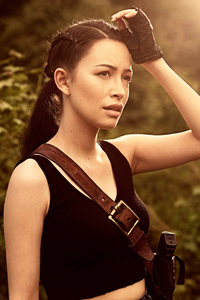 Christian Serratos As Rosita Espinosa The Walking Dead Season 9 2018