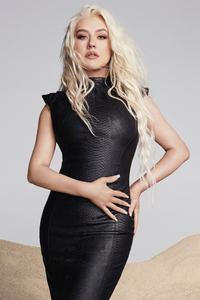 2160x3840 Christina Aguilera Health Magazine 4k