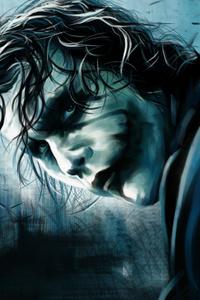 Christopher Nolan Joker Art