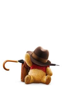 Christopher Robin 2018 Movie Winnie The Pooh Poster 4K