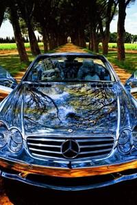 Chrome Mercedes Benz