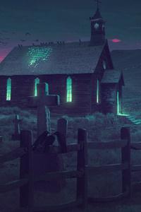Church Illustration 4k