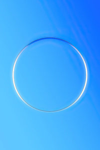 360x640 Circle Blue Gradient 5k
