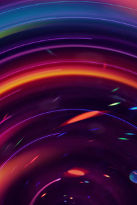 1125x2436 Circle Digital Art Abstract