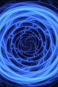 Circle Swirl Shapes Abstract