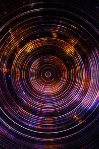 1280x2120 Circles Art 4k Ultraviolet