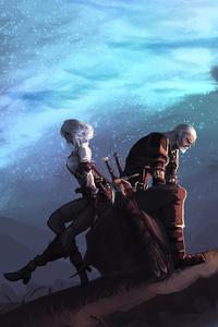 Ciri And Geralt 5k