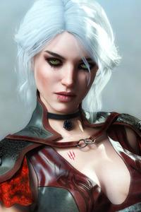 Ciri Fantasy Art 4k