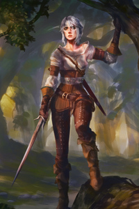 Ciri The Witcher 3 4k