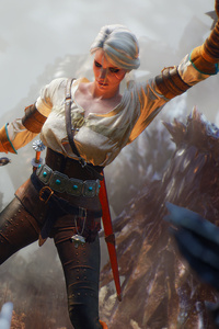 Ciri The Witcher 3 Game