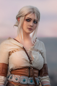 1440x2960 Ciri The Witcher Cosplay