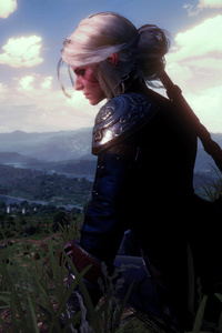 Ciri Witcher 3 Wild Hunt 5k
