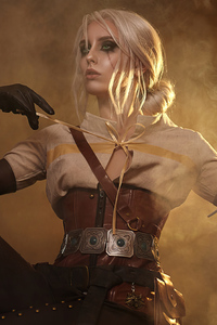 1440x2560 Ciri Witcher Cosplay 5k