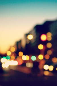 1080x2280 City Blurred