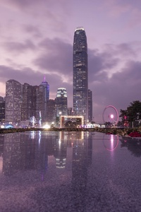 2160x3840 City Hong Kong Cityscape Urban Metropolis Building 4k